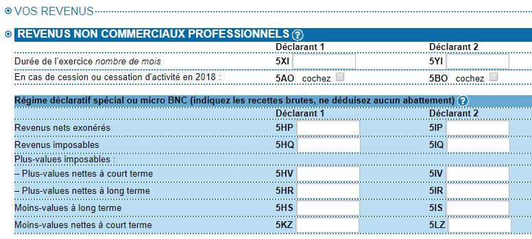 declaration-impots-revenus-micro-entreprise-BNC-sansVE-JALP